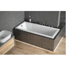 Akrilinė vonia Besco MODERN (150x70 cm) su kojomis