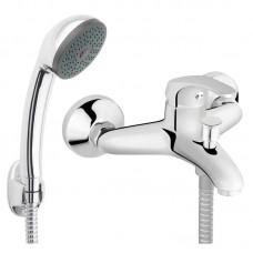 Maišytuvas vonios-dušo BASIC su trumpu snapu