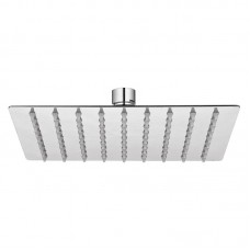 Lietaus dušo galva KVADRATO Slim 20x20 cm kvadratinė, metalinė
