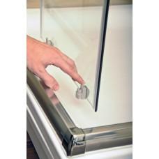 Dušo durys Ravak Blix BLDP4 su skaidriais stiklais (120 cm pločio)