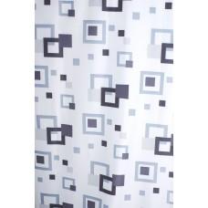 Užuolaidos tekstilinės voniai FRAME 180x200cm