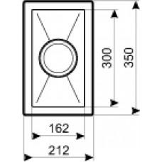 Nerūdijančio plieno plautuvė ENNA (35x21,2 cm)