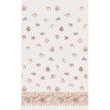 Užuolaidos tekstilinės voniai NET 180x180cm