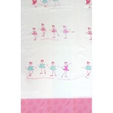 Užuolaidos tekstilinės voniai BALLERINA 180x200 cm