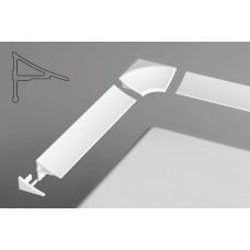 Apdailos juostelė Ravak balta, tipas 11 (18 mm)