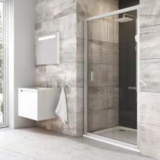 Dušo durys Ravak Blix BLDP2 su matiniais stiklais (100 cm pločio)
