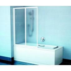 Vonios sienelė Ravak VS2 (105x140 cm), baltas rėmas