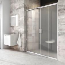 Dušo durys Ravak Blix BLDP4 su matiniais stiklais (200 cm pločio)