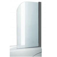 Tiesi stiklinė sienelė voniai ELP-642 (155x80 cm) varstoma
