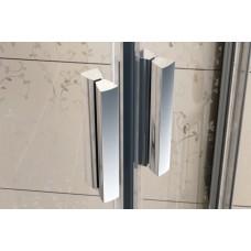 Dušo durys Ravak Blix BLDP2 su skaidriais stiklais (120 cm pločio)