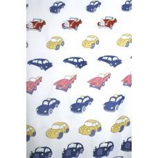 Užuolaidos tekstilinės voniai CARS 180x200cm