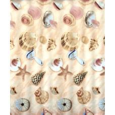 Užuolaidos tekstilinės voniai BEACH 180x200cm
