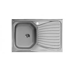 Nerūdijančio plieno plautuvė Artenova E5080 (50x80 cm)