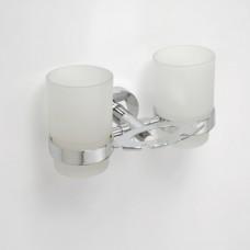 Bemeta Laikiklis dantų šepetėliams su 2 stiklinėmis Omega