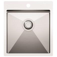 Nerūdijančio plieno plautuvė LUNA (450 x 505 mm)